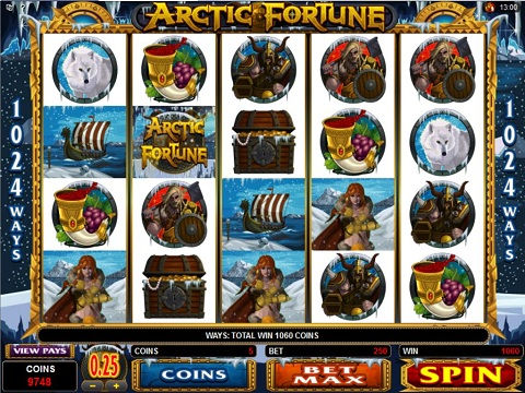 Play Arctic Treasure Online Pokies at Casino.com Australia